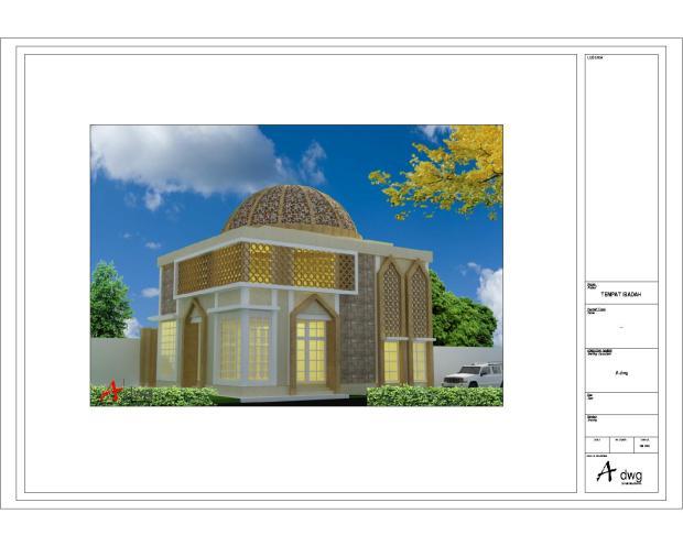 3d masjid bts